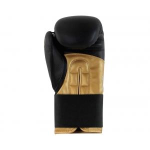 Перчатки боксерские  HYBRID 100 от Adidas черно-золотые
