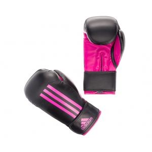 Перчатки боксерские ENERGY 100 Adidas черно-фиолетовые