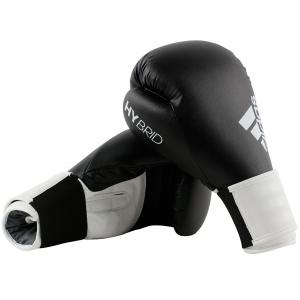 Перчатки боксерские  HYBRID 100 от Adidas черно-белые