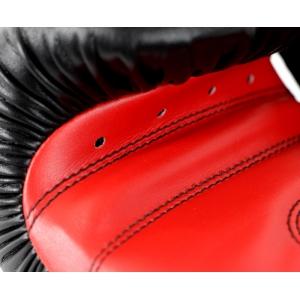 Перчатки боксерские POWER 100 от Adidas  черно-красные