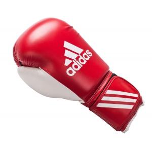 Перчатки боксерские RESPONSE  Adidas красно-белые
