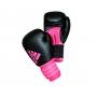 Перчатки боксерские  HYBRID DYNAMIC FIT 100 от Adidas черно-оранжевые